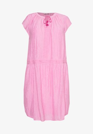 DRESS WITH DECO TAPES - Day dress - dusty orchid