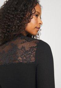 Rosemunde - Maglietta a manica lunga - black - 4