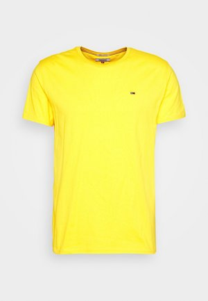 ESSENTIAL SOLID TEE - Basic T-shirt - star fruit yellow