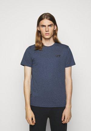 Basic T-shirt - active blue mel