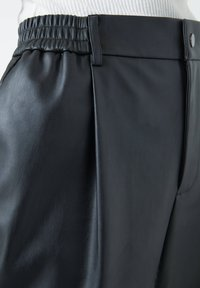 PULL&BEAR - Trousers - black - 6