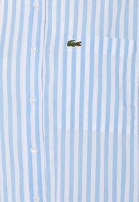 Lacoste - Button-down blouse - nattier blue/white - 5