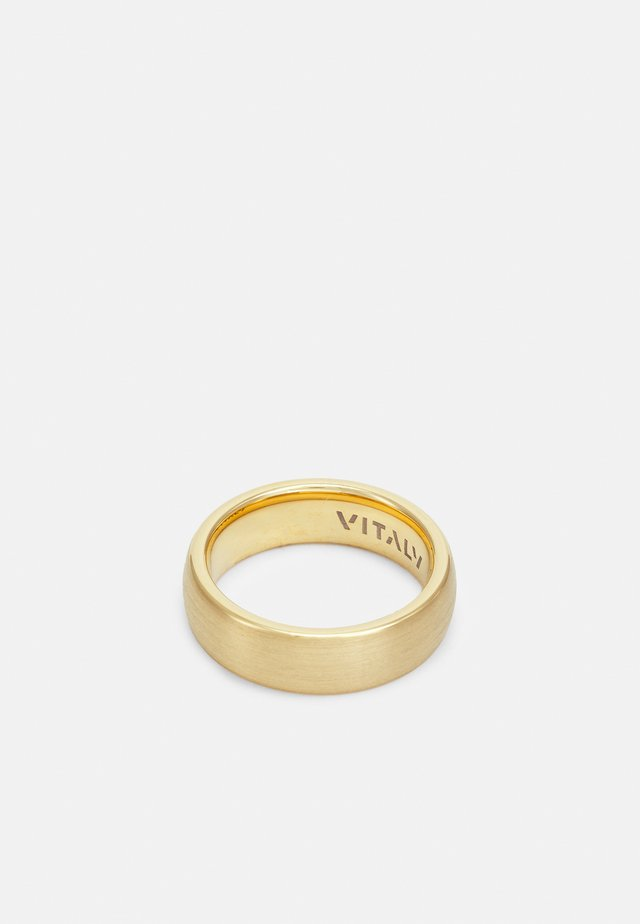 EQUINOX UNISEX - Bague - gold-coloured