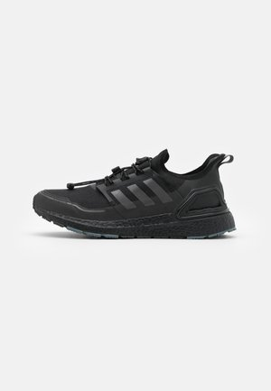 ULTRABOOST PRIMEKNIT RUNNING SHOES - Neutrala löparskor - core black/iron metallic