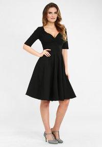 Collectif - TRIXIE - Day dress - black - 1