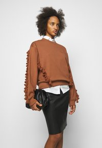 By Malene Birger - FLORIDIA - Leather skirt - black - 3