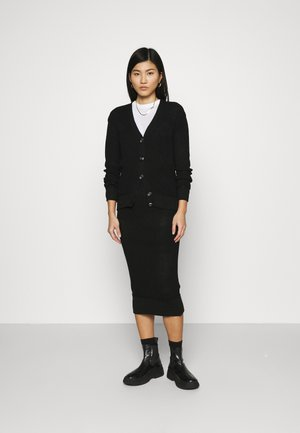 SET - Cardigan - black