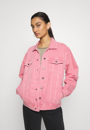 TINEBOROW - Denim jacket - litchi