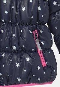 Blue Seven - KIDS GIRLS HIGHNECK - Winter jacket - nachtblau - 4