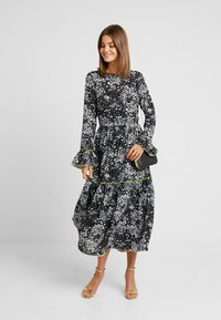 YAS - YASIDA DRESS - Maxi dress - black - 1