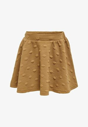 A-line skirt - toasted coconut
