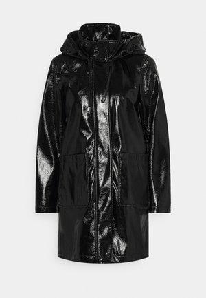 SLICKER COAT - Parka - black