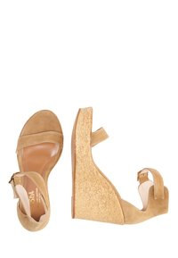 usha - High heeled sandals - sand - 3