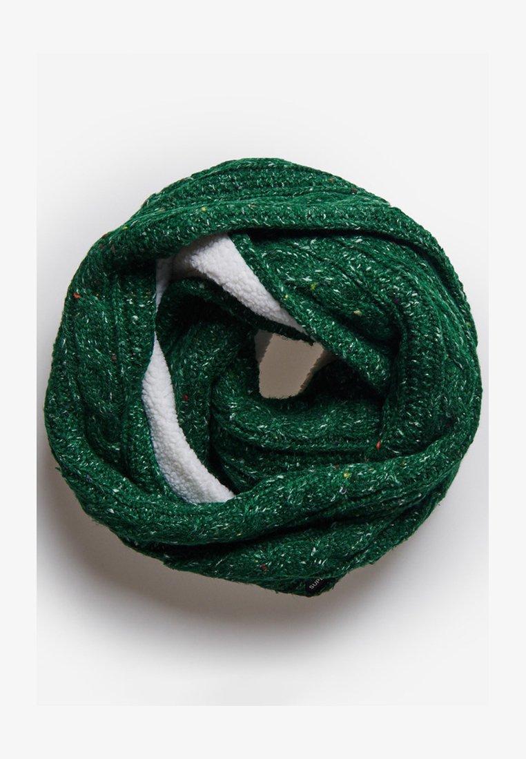 Superdry - GRACIE CABLE - Scaldacollo - burlington green tweed