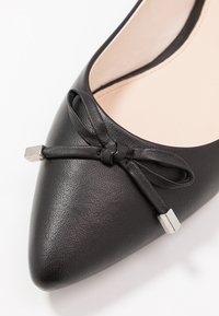 Anna Field - LEATHER BALLERINAS - Ballet pumps - black - 2