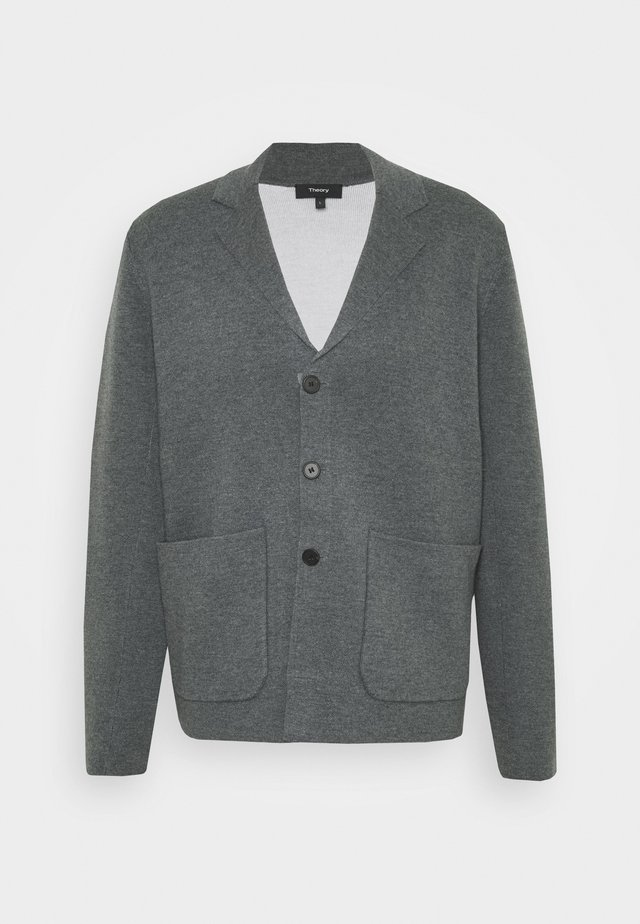 EADGAR - Blazer jacket - grey multi