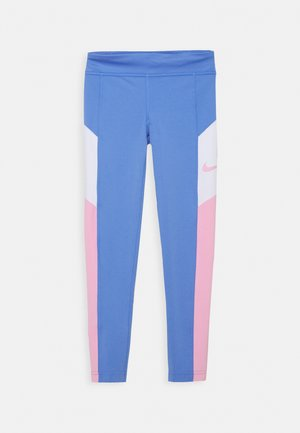 TROPHY - Legging - royal pulse/pink/white