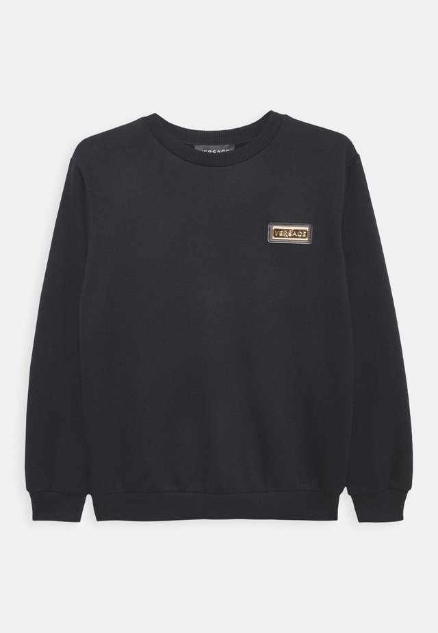 FELPA UNISEX - Sweatshirt - nero