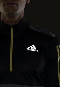 adidas Performance - OWN THE 1/2 RESPONSE PRIMEGREEN RUNNING PULLOVER SWEATSHIRT - Sweatshirt - grey - 5
