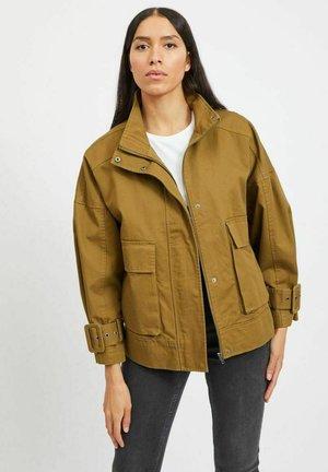 HOHER KRAGEN - Summer jacket - nutria