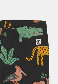 Lindex - MINI ANIMAL UNISEX - Leggings - off black - 2