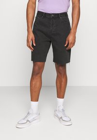 BDG Urban Outfitters - DAD - Denim shorts - washed black - 0