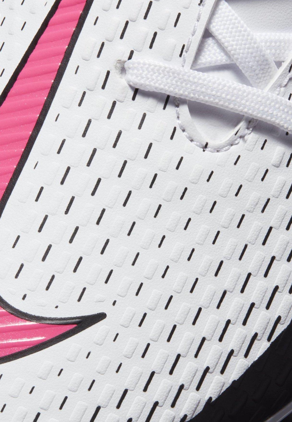 Nike Performance Phantom Gt Academy Ag - Fodboldstøvler M/ Faste Knobber White/black/pink Blast