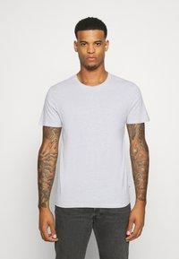 Burton Menswear London - SHORT SLEEVE CREW 5 PACK - T-shirt basic - burgundy/olive - 1