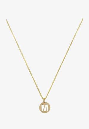 Necklace - jaune or