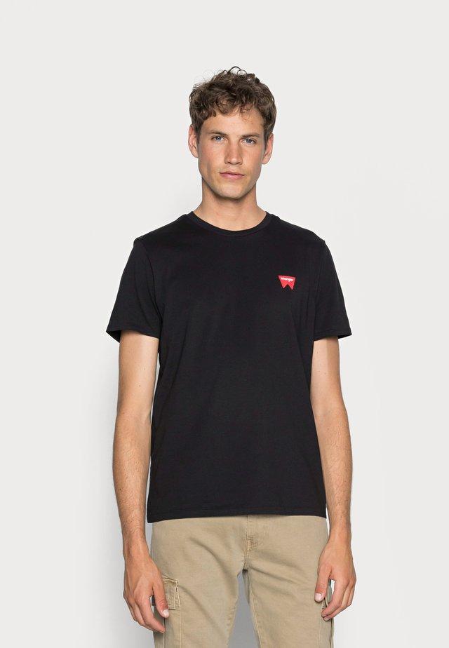 SIGN OFF - T-shirt basic - black