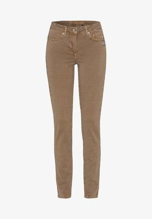 Slim fit jeans - taupe varied