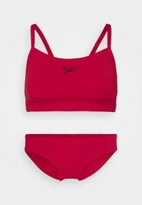 Speedo - ESSENTIAL ENDURANCE THINSTRAP SET - Bikini - fed red - 0