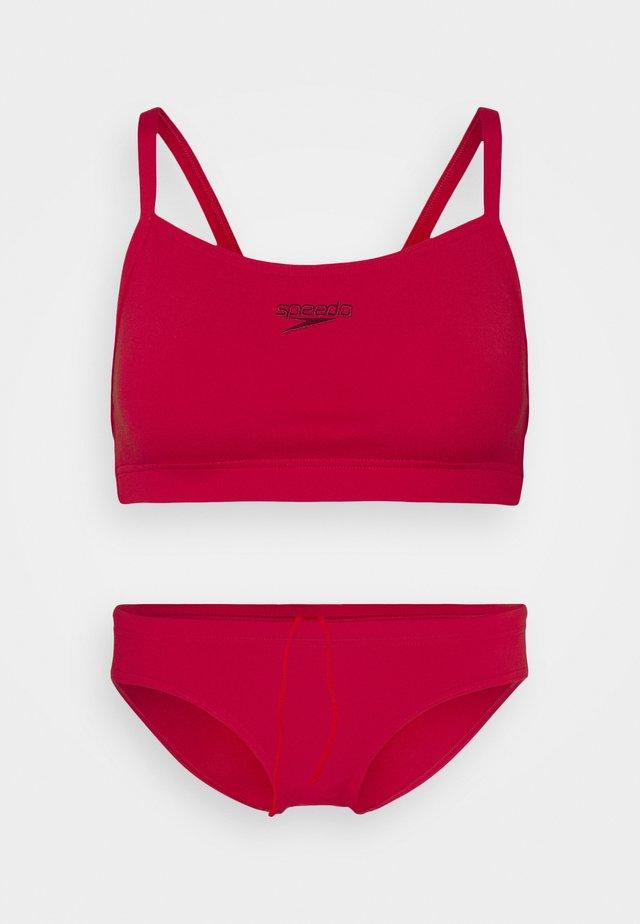 ESSENTIAL ENDURANCE THINSTRAP SET - Bikini - fed red