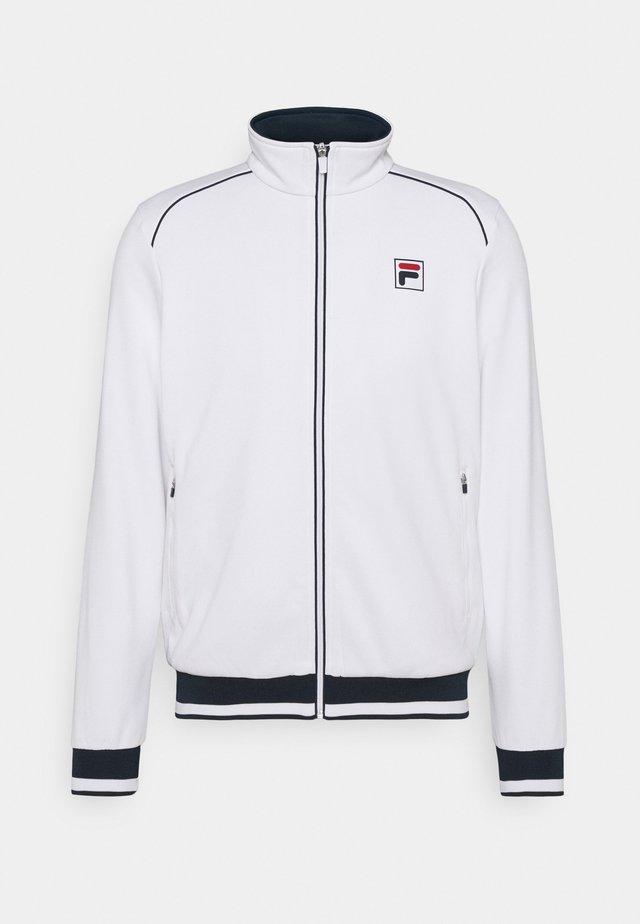 JACKET BEN - Training jacket - white