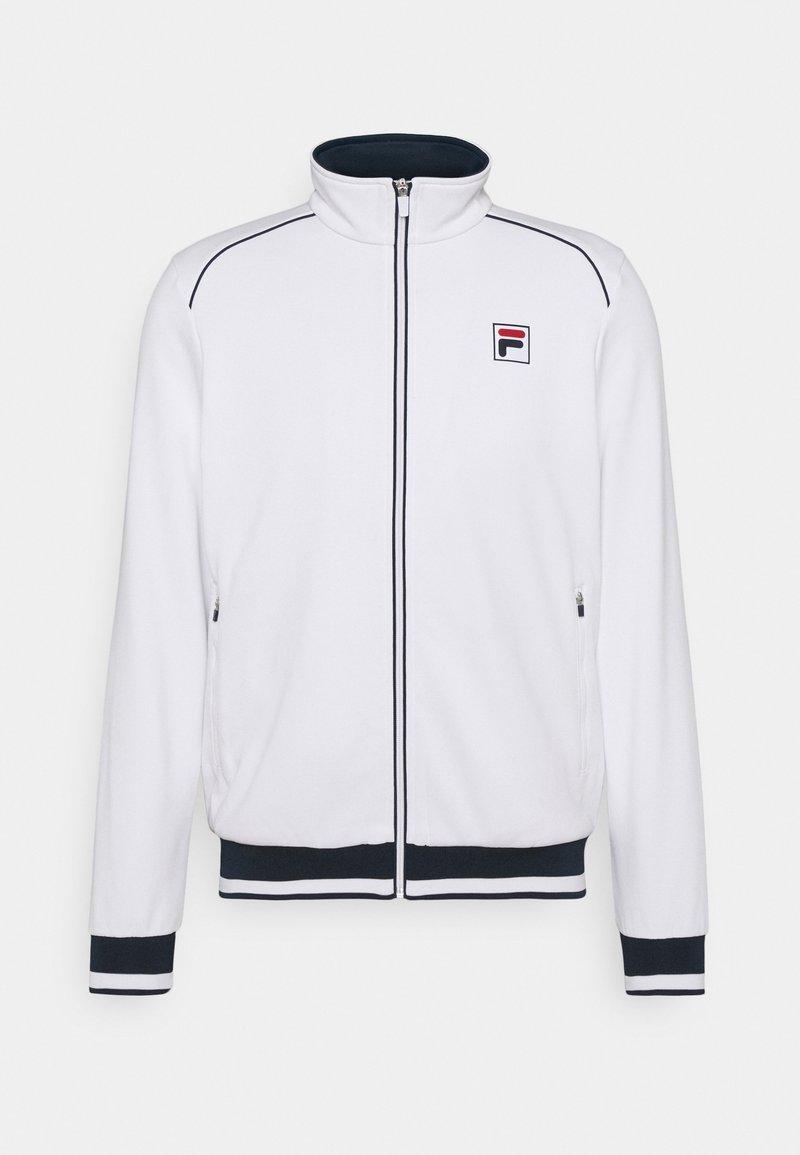 Fila - JACKET BEN - Sportovní bunda - white