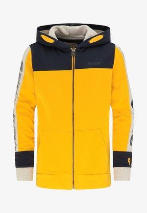 Zip-up hoodie - amber