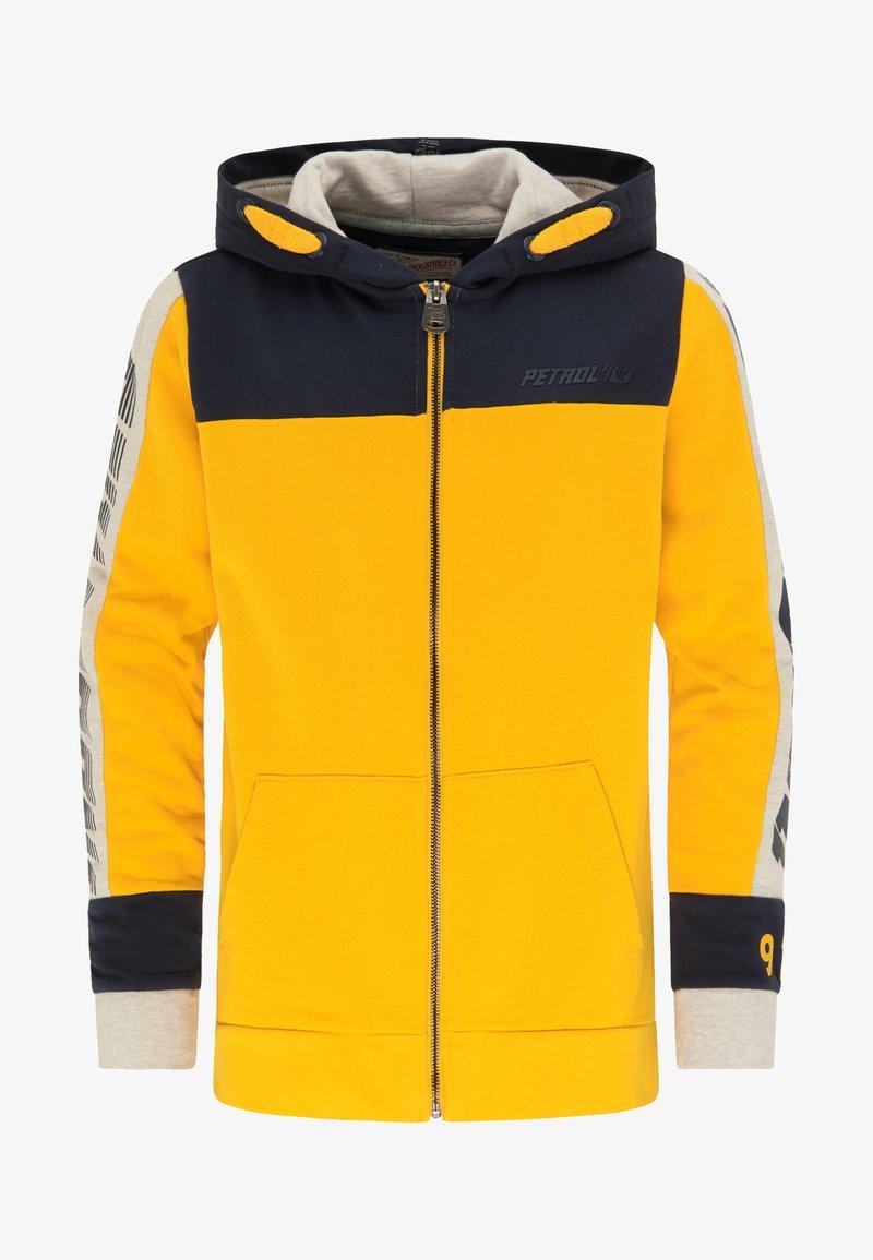 Petrol Industries - Zip-up hoodie - amber
