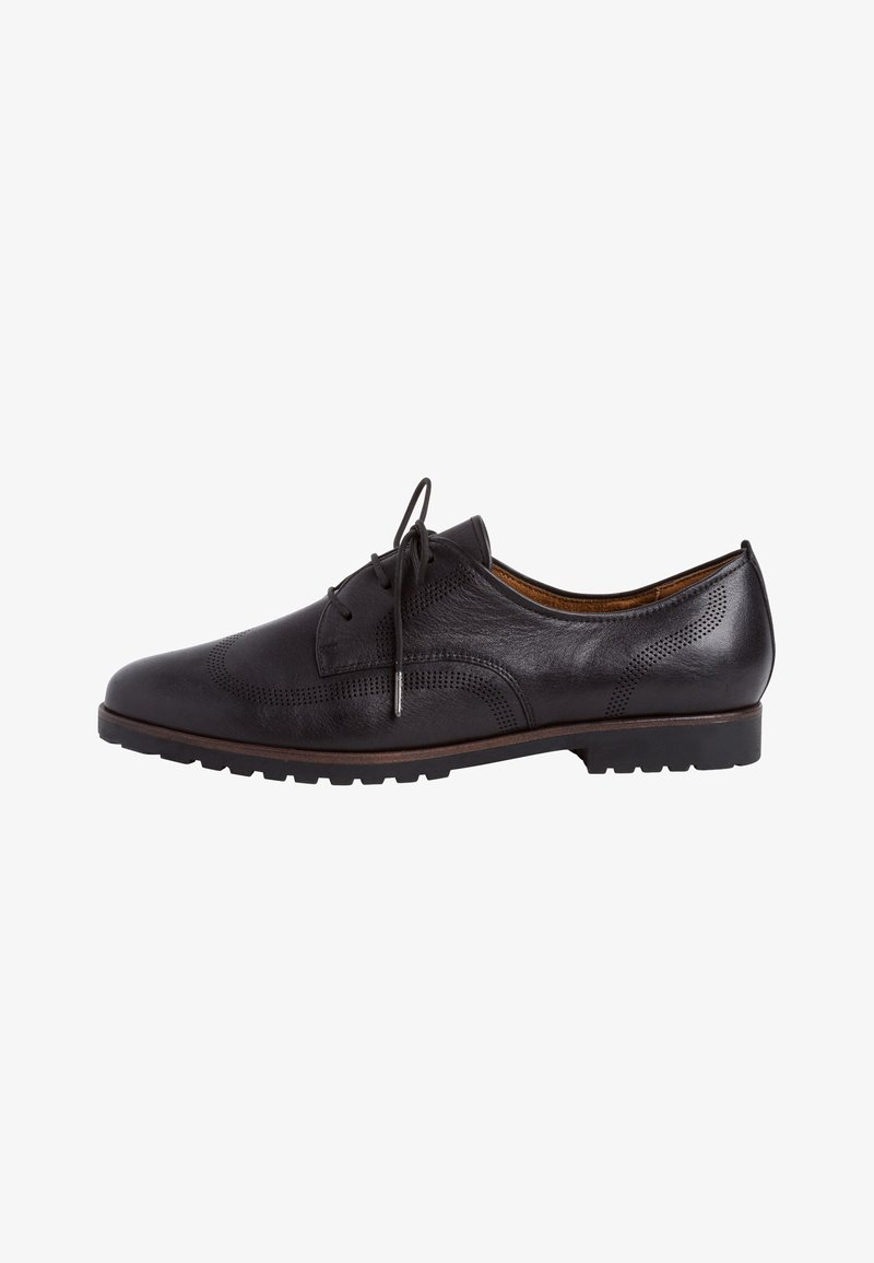 Tamaris - Lace-ups - black leather