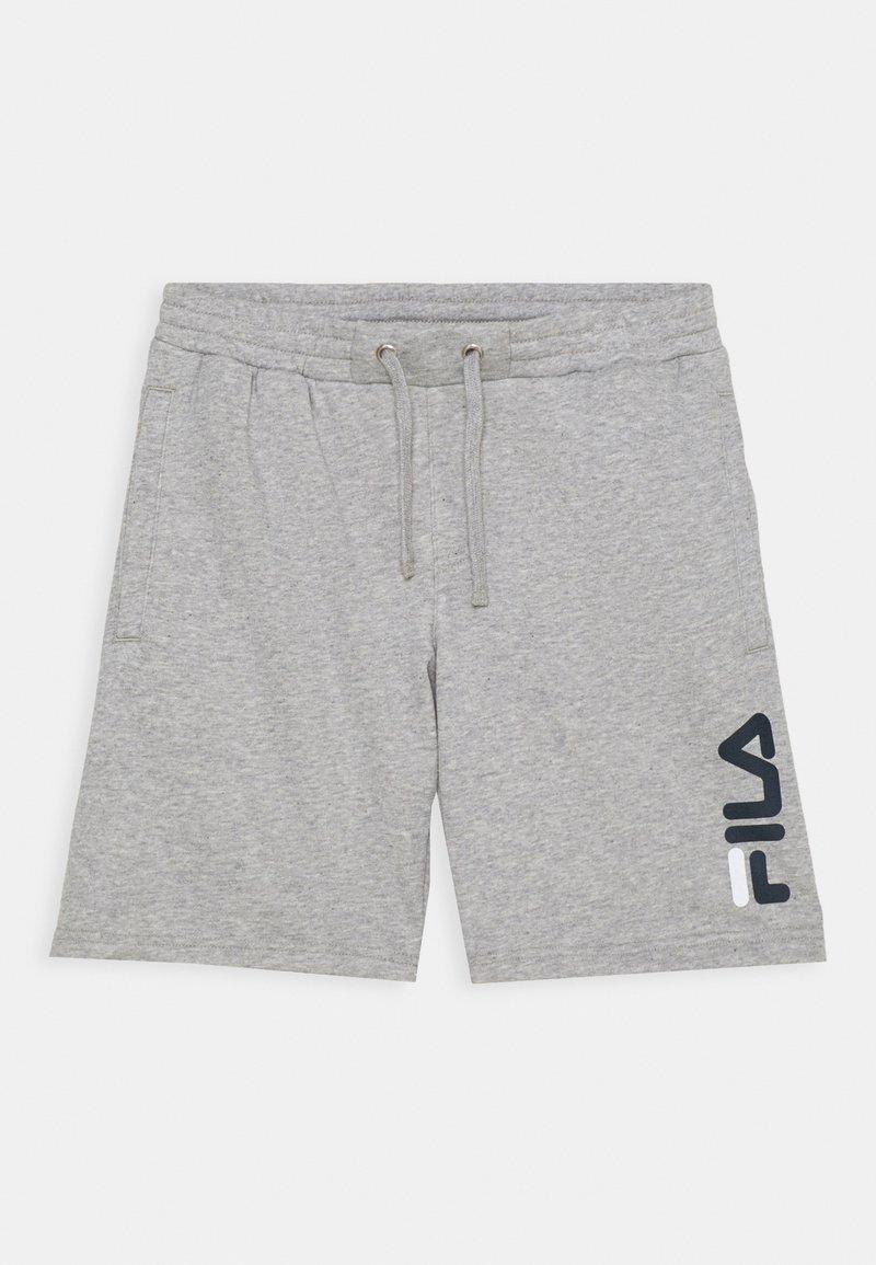Fila - ROBERT KIDS - Pantalón corto de deporte - light grey melange