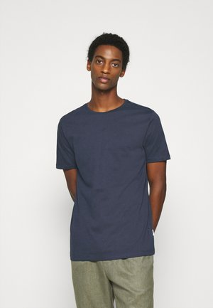 BASIC TEE - Basic T-shirt - dark blue