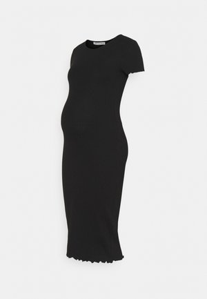 NURSING Jersey dress - Vestido ligero - black