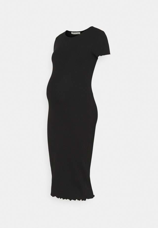 NURSING Jersey dress - Jerseyklänning - black