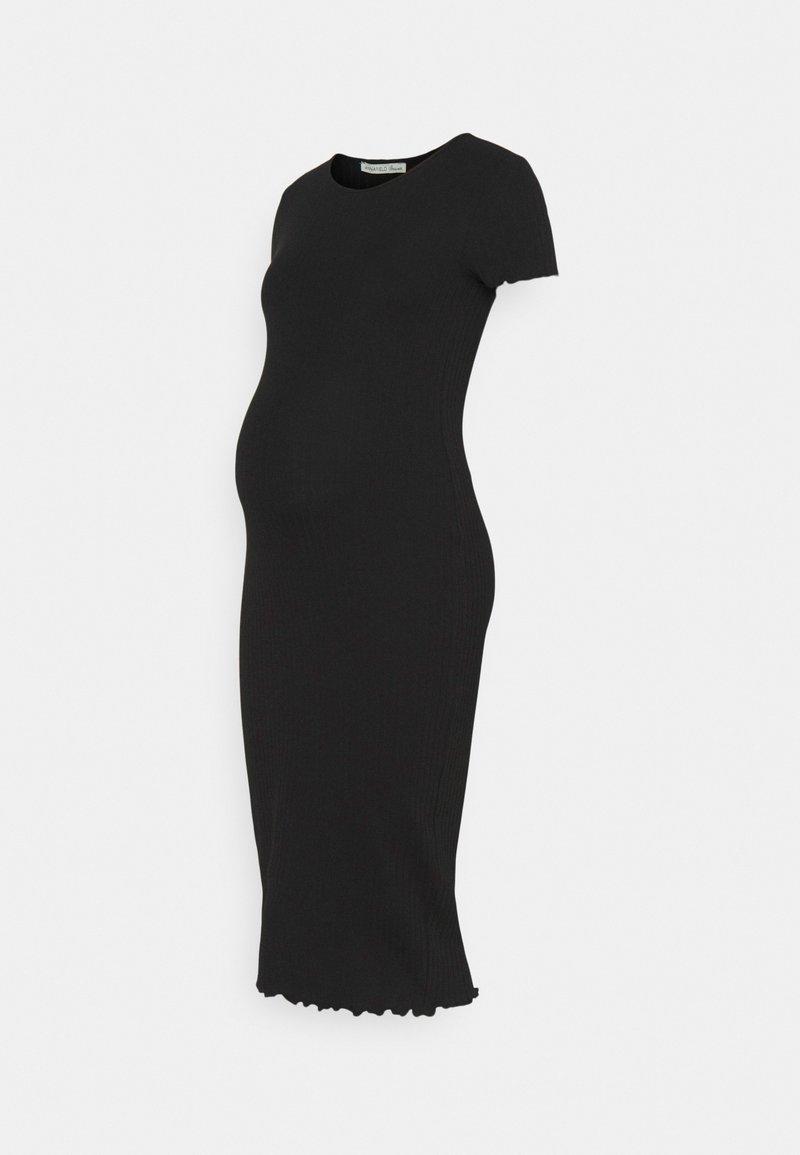 Anna Field MAMA - JERSEY DRESS - Jersey dress - black