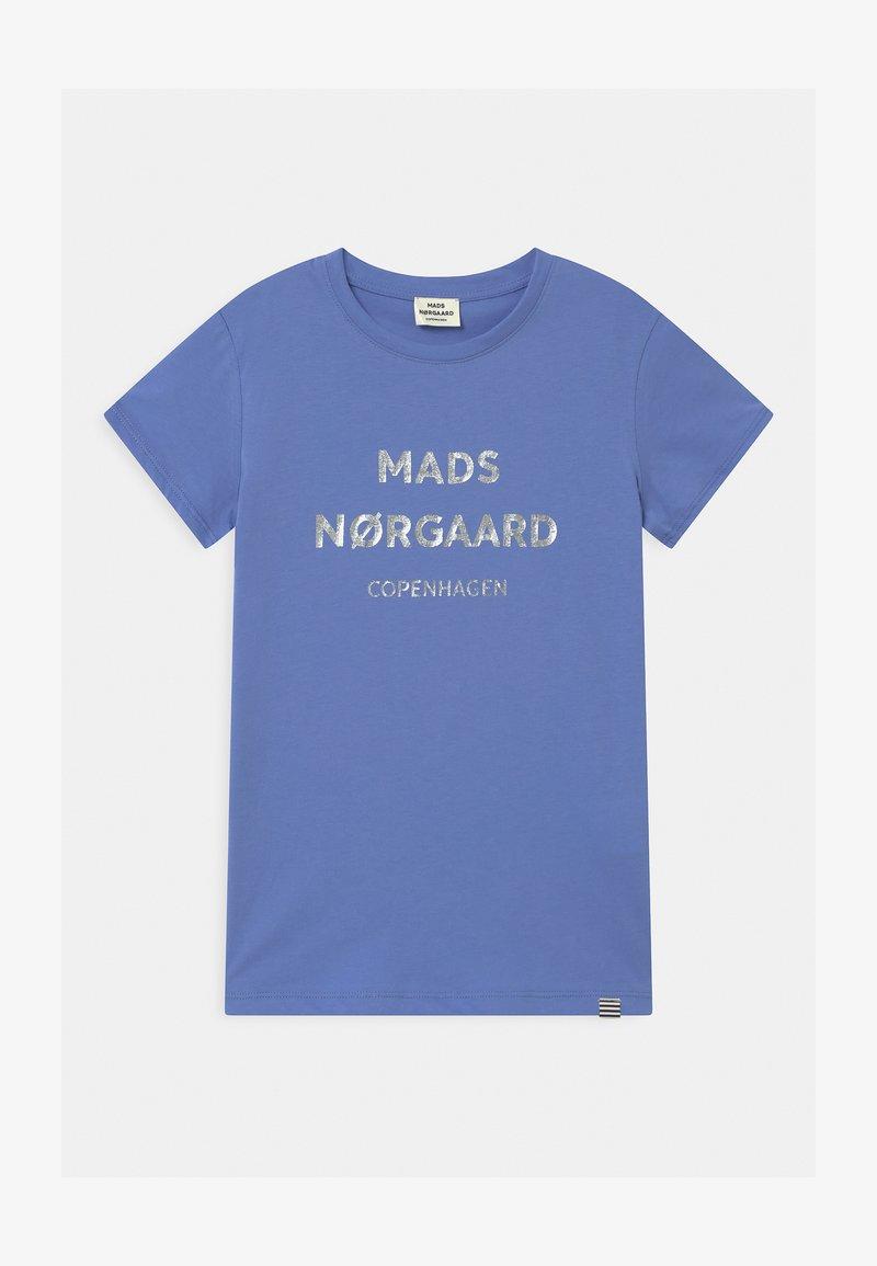 Mads Nørgaard - T-Shirt print - blue violette
