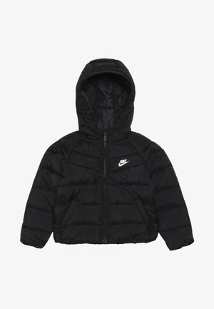 FILLED JACKET BABY - Vinterjacka - black