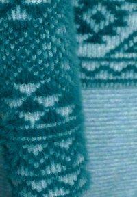 Cecil - MIT MUSTER - Hoodie - blau - 4