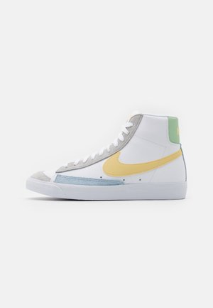 BLAZER MID '77 UNISEX - High-top trainers - white/lemon wash