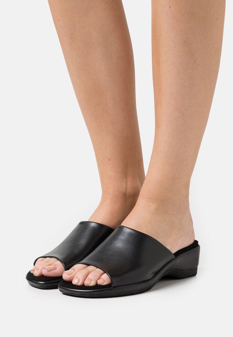 Gabor Comfort - Heeled mules - black