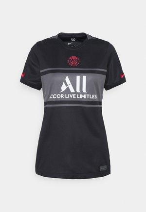 PARIS ST. GERMAIN - Club wear - black/dark grey/white/siren red