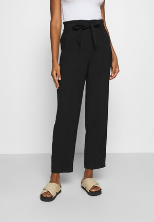 JDYSABINAHW BELT PANT - Trousers - black